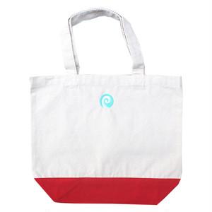 PORT OKINAWA LUNCH BAG ポートオキナワ ランチバッグ カバン ナチュラル/レッド
