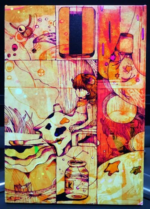 キャンバス作品「風上のタウラス」
