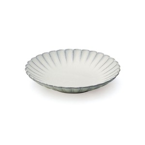 「花 hana」プレート 皿 16cm M ぎんはく 瀬戸焼 288132