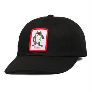 BUTTER GOODS DEVIL 6 PANEL CAP BLACK