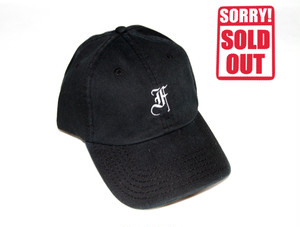 F.F.F. -old english- Low Cap[BLACK]
