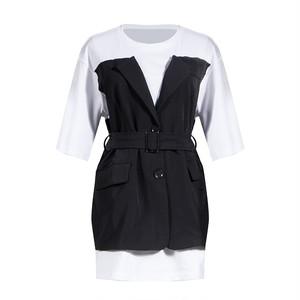 RIMI&Co. SELECT  ドッキングTシャツ