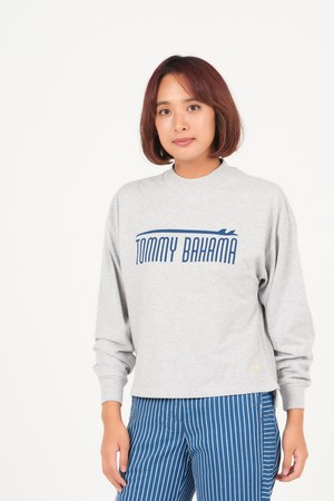 LADIES SURF ABOVE TB L/S/GREY HEATHER