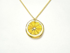 受注生産◆LEMON NECKLACE