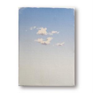 絵画作品タイトル「雲一つ」リトグラフ 額装なし paintings, fine art