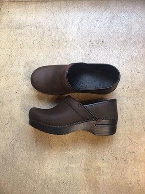 dansko Professional Antique Brown/Blk Oiled