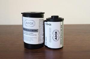 【 35mm モノクロポジ 】ADOX( アドックス )SCALA160 36枚撮り
