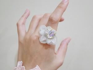 【リング.17】phantomFLOWER crystal