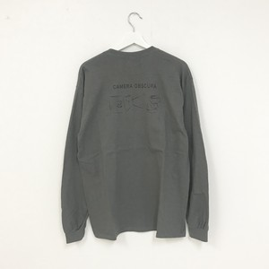 TRASH L/S TEE(CHARCOAL GREY)