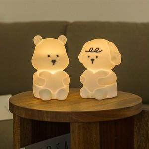 my buddy lamp / マイバディー ムードランプ LED 照明 ルームライト ハート 犬 わんちゃん くまさん ベア 韓国 雑貨