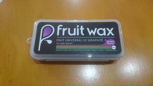 FruitWax フルーツワックス universalv2 ユニバーサルv2 グラファイト グレイ