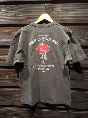 Banks Journal  Willow Tee  ATS0466  D.Black Mサイズ