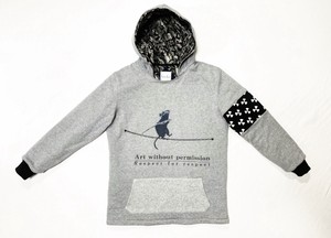 19AW  裏キルティングコットン100%フーディー / Cotton 100% / quilted lining hoodie