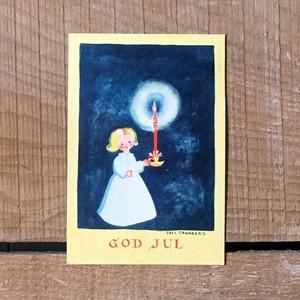 ミニ・クリスマスカード「Boel Cronberg(ボエル・クローンベリ)」《200311-03》