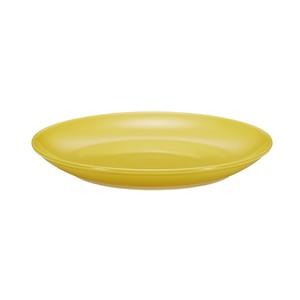 西海陶器 波佐見焼 「コモン」 プレート 皿 240mm イエロー 13216