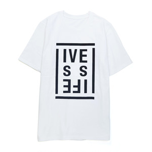LIVE IS LIFE  SS-T  WHITE