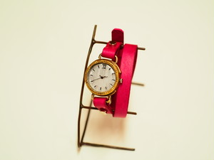 【限定】二重巻ベルトの腕時計