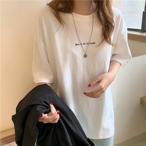 2021SS オーバーサイズロゴプリントTシャツ S1559
