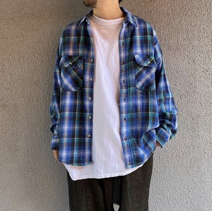 """FIVEBROTHER"" flannel shirts"
