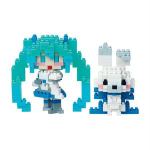 nanoblock® 雪ミク&ラビット・ユキネ