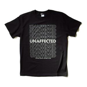 UNAFFECTED 【HOUSE MUSIC LOVERS CLUB】LOOP ブラックTシャツ