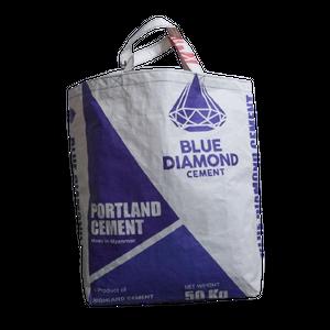 BREMENS CEMENT BAG【L】(Blue Diamond)