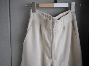 pelleq / heavy weight straight trousers (fog)