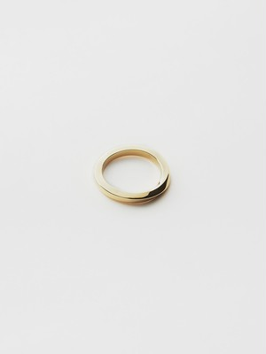 WEISS Twist Ring Gold wei-rggd-09
