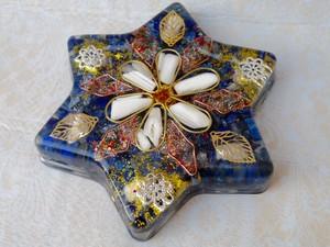 フラワーオブヘキサゴン 統合の六芒星オルゴナイト