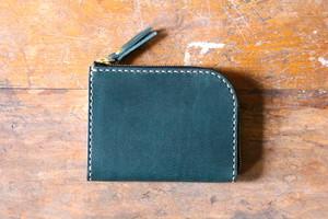Small Wallet 〜Elbamatt〜 TURQUOISE L字ファスナーマルチミニウォレット