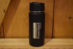 新品 パタゴニア×ハイドロフラスク 水筒 日本未発売 16oz  ブラック
