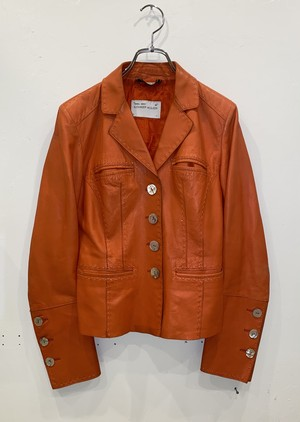 1990s ALEXANDER MCQUEEN LEATHER JACKET