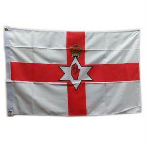 イギリスの国旗Lサイズ【北アイルランド】Worldwide Flags 90007-F