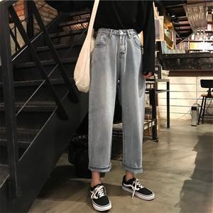 【bottoms】定番商品簡約スタイルアンクル丈雰囲気抜群パンツ 22440015