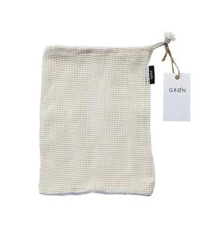 GRØN ロゴ入り・オリジナルメッシュバッグ