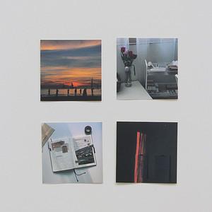 [p.palette] ミニフォト ステッカーパック(8枚)