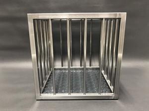 【3号】スチール製 牢屋 檻型 ディスプレイボックス