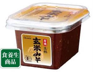 オーサワ有機立科玄米みそ(カップ)300g