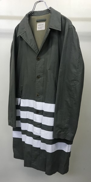 SS1999 HELMUT LANG PAINTED COAT