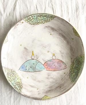 おひなさま絵皿(小)2