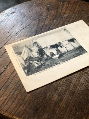 30s 40s vintage ポストカード アメリカ USA インテリア ネイティブアメリカン