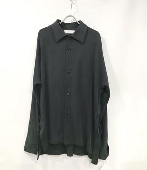 ETHOSENS silk  shirt  black