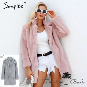 【FlamingoBeach】pink coat