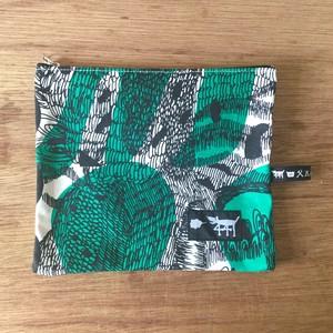 """ミニポーチ mini pouch """"jungle here""""G01"""