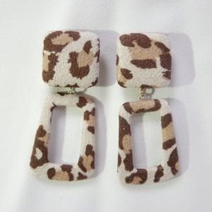 Leopard pierce beige[送料無料]
