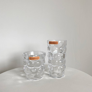 【made in germany】bubble glass cup 2size / ドイツ製 バブル グラス ポコポコ ガラス コップ 韓国 北欧 雑貨