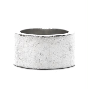Vintage Sterling Silver Mexican Hammered Band Ring