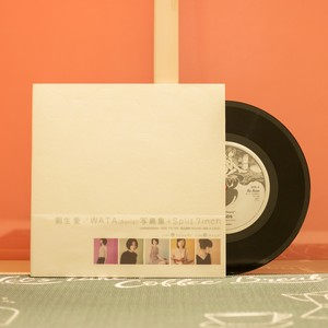 SHE'S SO HEAVY / 朝生 愛 & Wata / EP Record 7inch & Photo Book