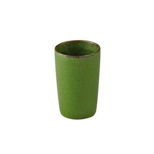 aito製作所 「翠 Sui」ミニ タンブラー ハナオカカップ 約110ml うぐいす 美濃焼 288051