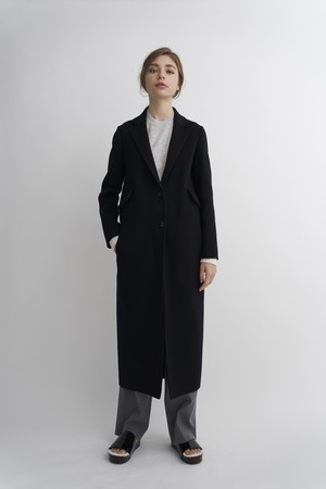WOOL CASHMERE CHESTER COAT